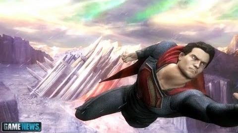 Injustice Gods Among Us Man of Steel Skin Trailer