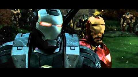 Iron Man 2 Drone Fight Scene 1080p HD
