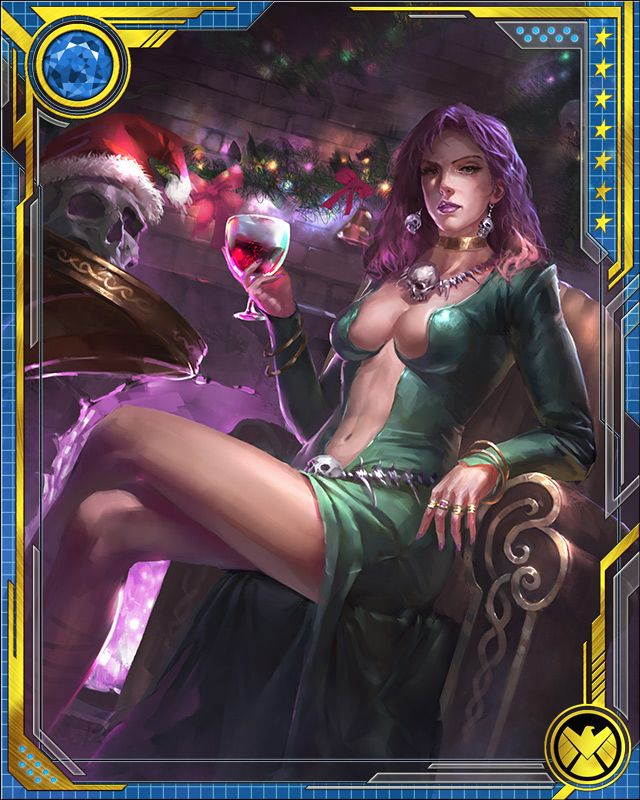 Legendary Witch Morgan Le Fay Marvel War Of Heroes