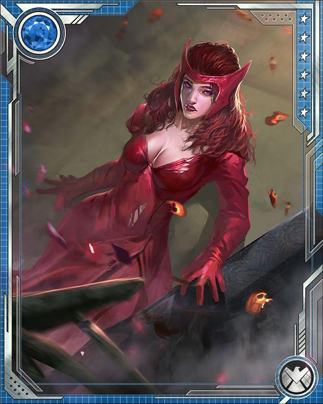 Ultimate Scarlet Witch [Valued Asset] Scarlet...