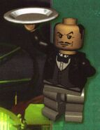 Alfred Pennyworth Lego Batman
