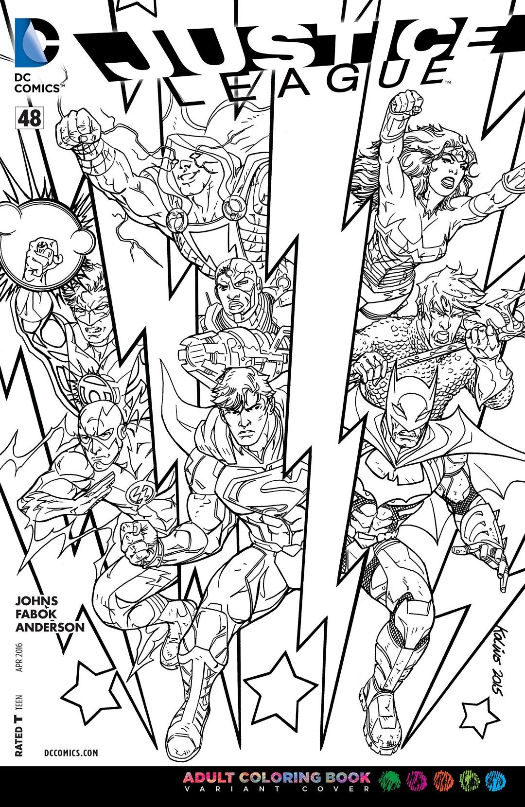 dc comics coloring pages virtren com