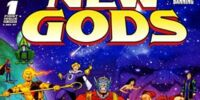 Death of the New Gods/Covers