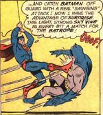Superman fights Batman