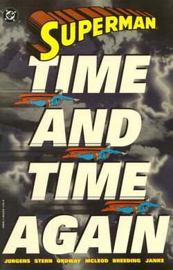 Cover for the Superman: Time and Time Again Trade Paperback