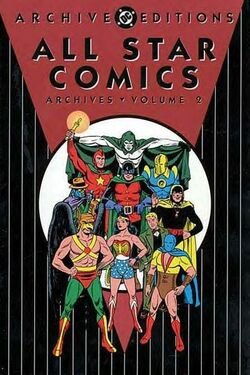 Cover for the All-Star Comics Archives Vol. 2 Trade Paperback