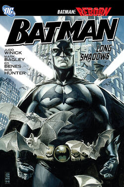 Cover for the Batman: Long Shadows Trade Paperback