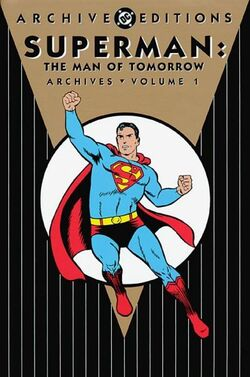 Cover for the Superman: The Man of Tomorrow Archives Vol. 1 Trade Paperback
