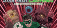 Star Trek/Green Lantern: The Spectrum War/Covers