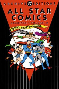 Cover for the All-Star Comics Archives Vol. 8 Trade Paperback