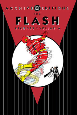 Cover for the The Flash Archives Vol. 6 Trade Paperback