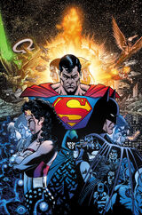 Superman plays a major role in the Infinite Crisis.