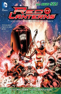 Cover for the Red Lanterns: The Second Prophecy Trade Paperback
