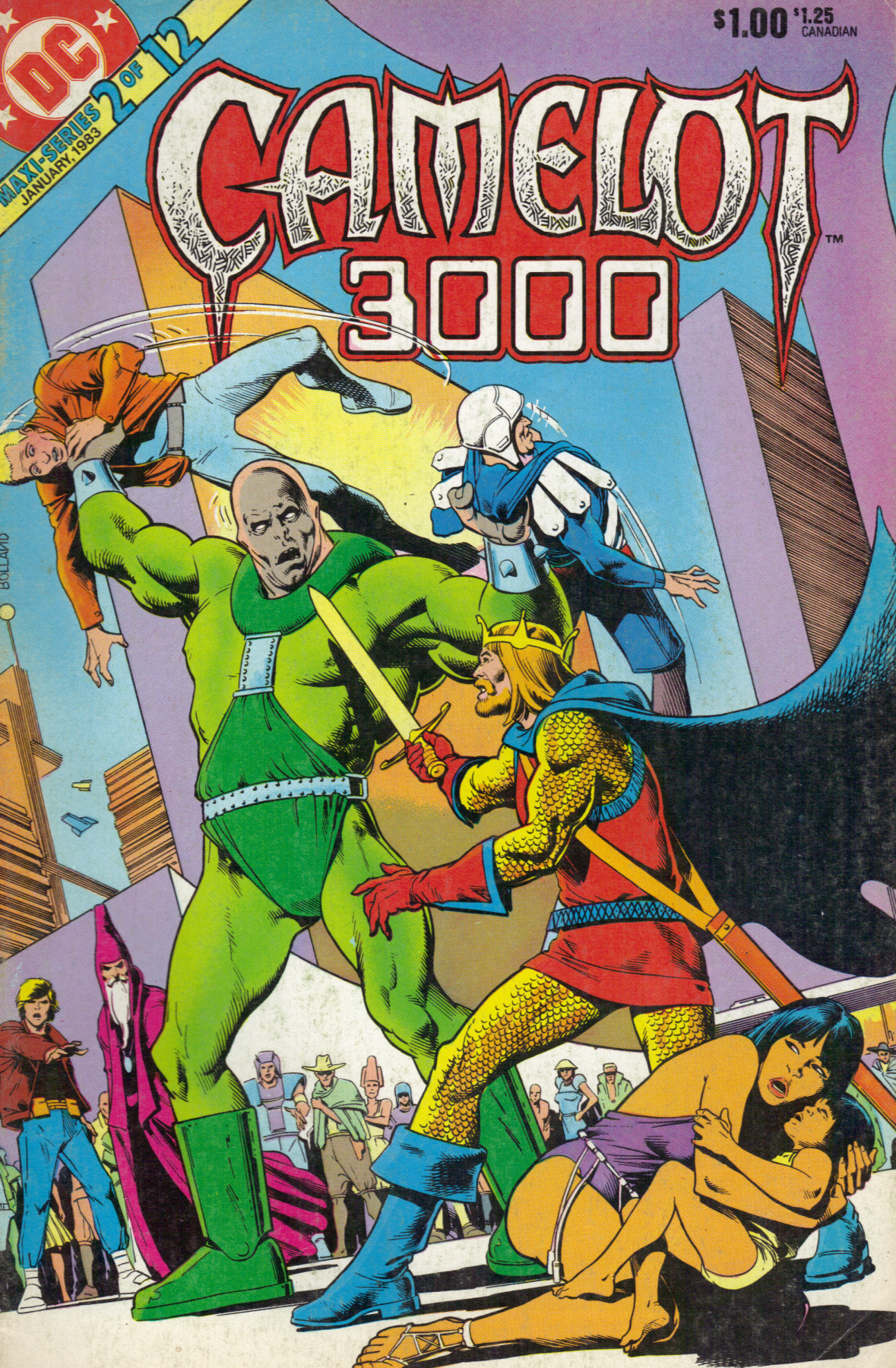Camelot 3000 Vol 1 2 Dc Database Fandom Powered By Wikia