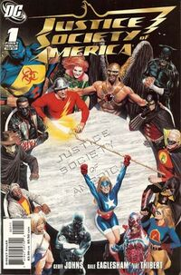 Justice Society of America Vol 3 1A