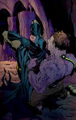 Batman fights Colin Wilkes