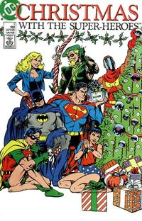 Christmas with the Super-Heroes 1