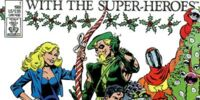 Christmas with the Super-Heroes/Covers
