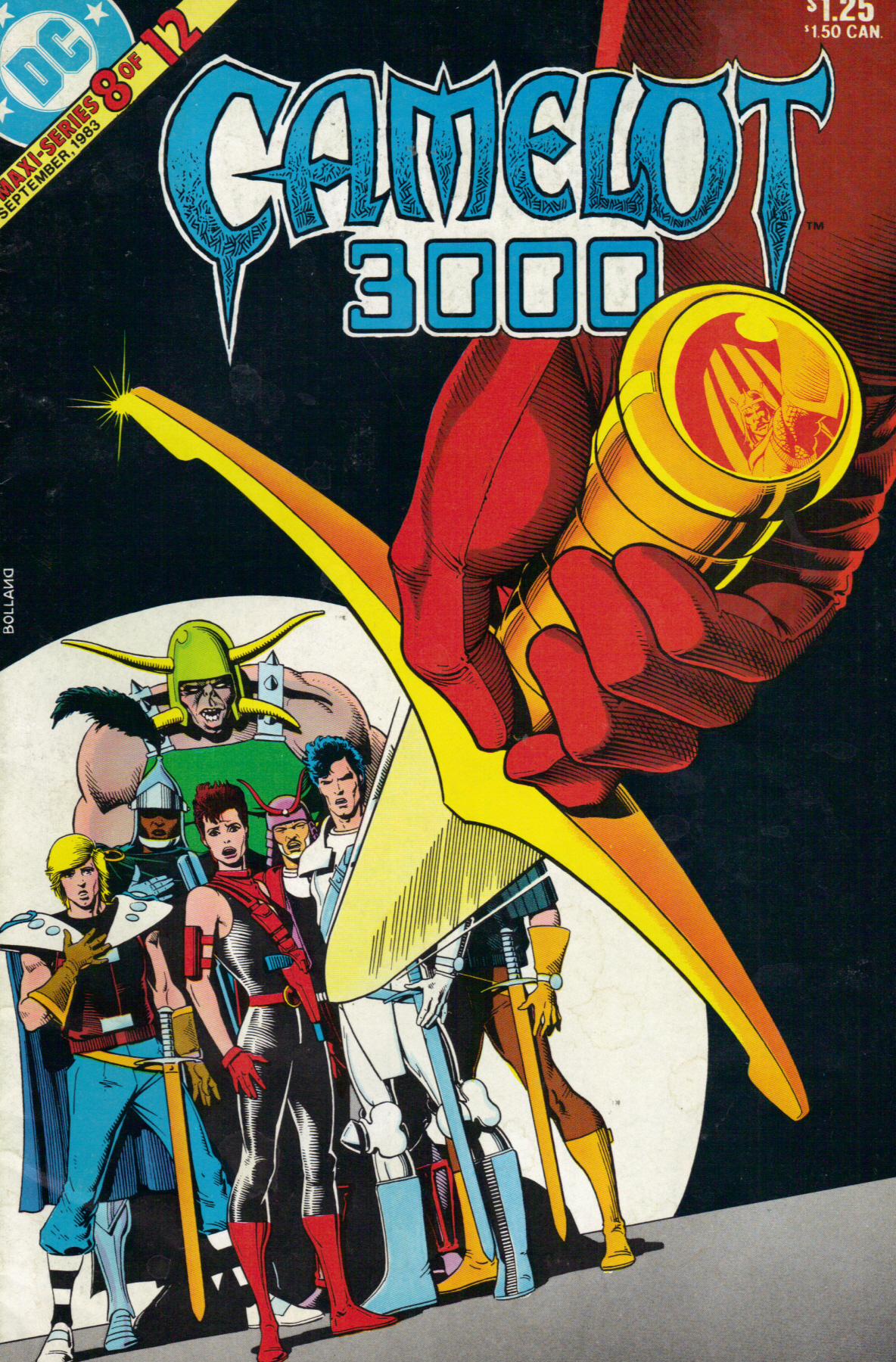 Camelot 3000 Vol 1 8 Dc Database Fandom Powered By Wikia