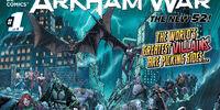 Forever Evil: Arkham War/Covers