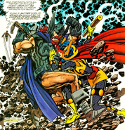 Thor Vs. Big Barda