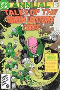 Tales of the Green Lantern Corps Annual Vol 1 2