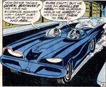 Third Version of the 60's Batmobile