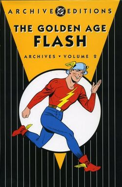 Cover for the The Golden Age Flash Archives Vol. 2 Trade Paperback