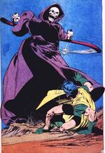 Reaper attacks Robin