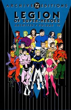 Cover for the Legion of Super-Heroes Archives Vol. 10 Trade Paperback