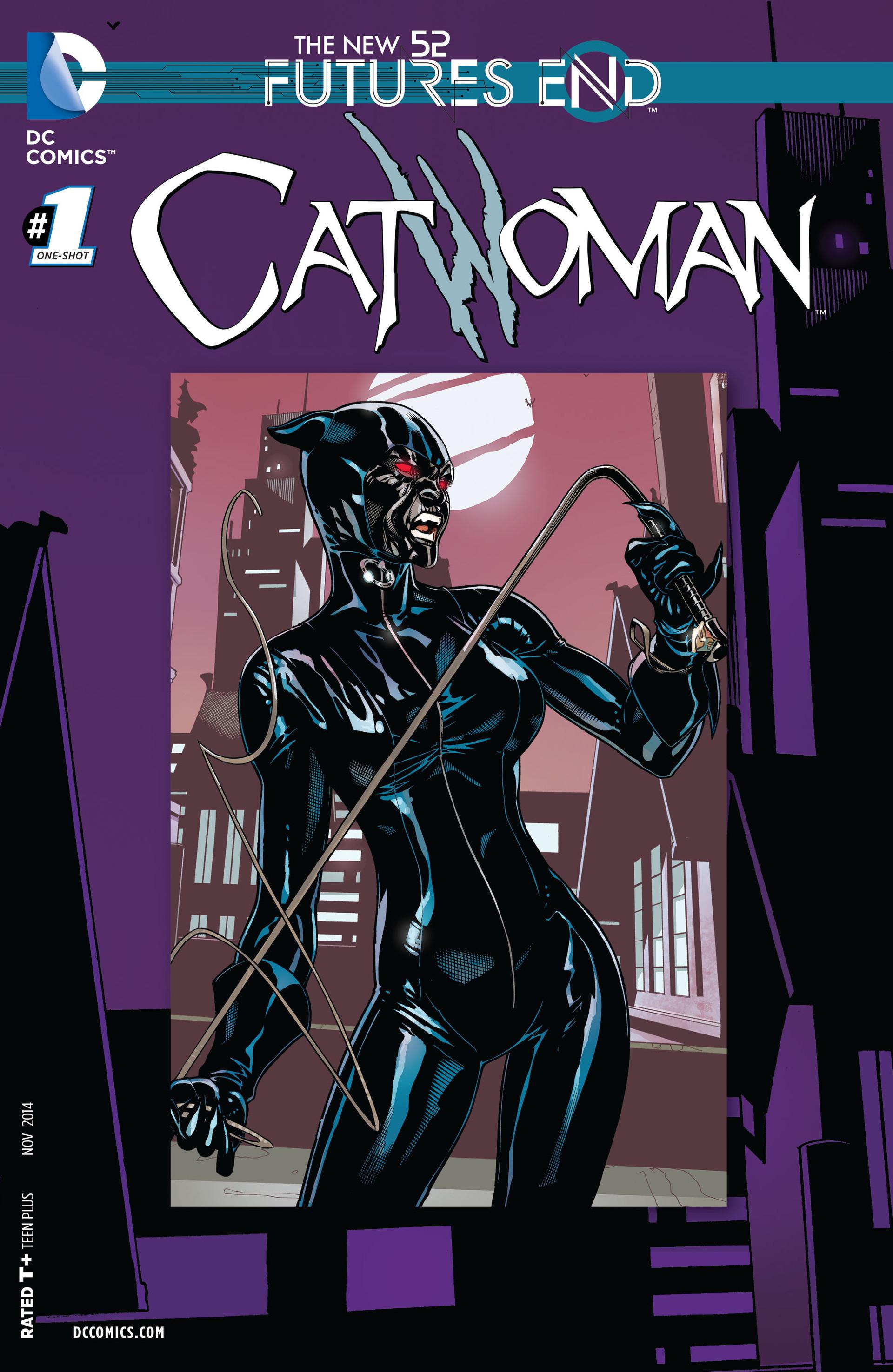 catwoman futures end vol 1 1 dc database fandom
