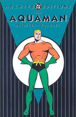 Cover for the The Aquaman Archives Vol. 1 Trade Paperback