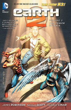 Cover for the Earth 2: The Tower of Fate Trade Paperback