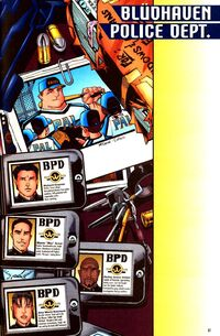 Bludhaven Police Department 001
