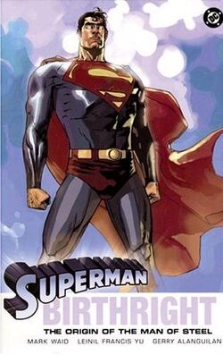 Cover for the Superman: Birthright Trade Paperback