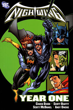 Cover for the Nightwing: Year One Trade Paperback