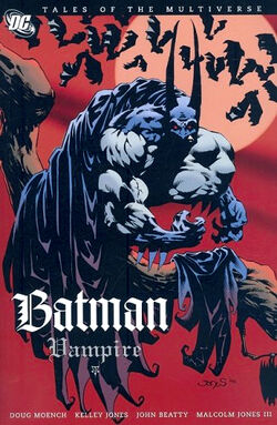 Cover for the Batman: Vampire Trade Paperback