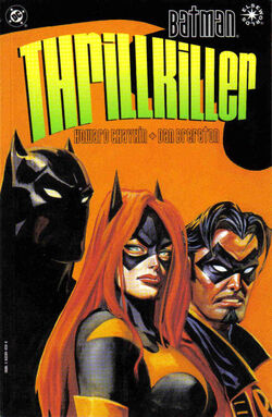 Cover for the Batman: Thrillkiller Trade Paperback