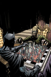 Scarecrow and Batman play a game of wits against one another for the fate of Gotham