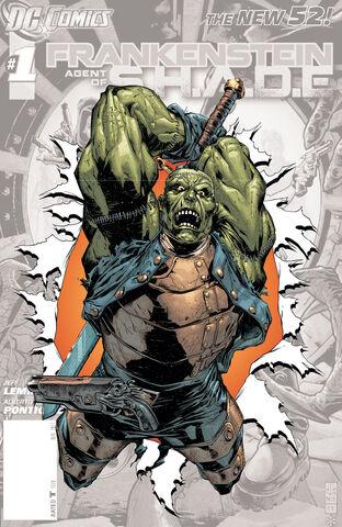 File:Frankenstein Agent of SHADE Vol 1 0 Textless.jpg