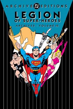 Cover for the Legion of Super-Heroes Archives Vol. 12 Trade Paperback