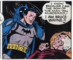 Bruce confronts Joe Chill