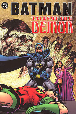 Cover for the Batman: Tales of the Demon Trade Paperback