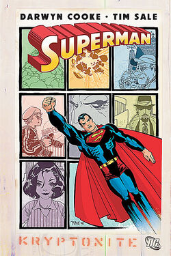 Cover for the Superman: Kryptonite Trade Paperback