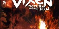 Vixen: Return of the Lion Vol 1 5