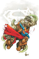 Superman vs. the Doomslayer.