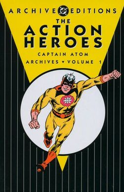 Cover for the The Action Heroes Archives Vol. 1 Trade Paperback
