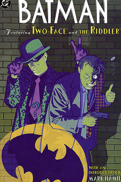 Cover for the Batman: Featuring Two-Face and the Riddler Trade Paperback