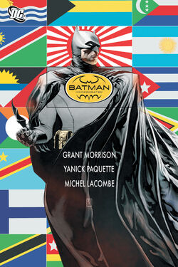 Cover for the Batman Incorporated Trade Paperback