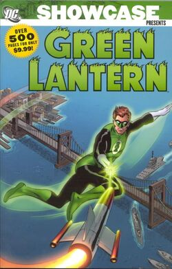 Cover for the Showcase Presents: Green Lantern Vol. 1 Trade Paperback